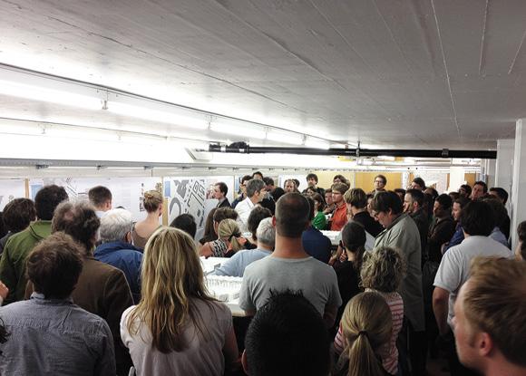 Nimbus Architekten Michael Bühler Lukas Schaffhuser Zürich Ausstellung Wettbewerbsprojekte Herdernstrasse