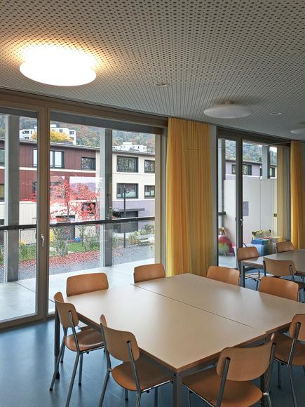 Nimbus Architekten Michael Bühler Lukas Schaffhuser Zürich Besichtigung Kindergaerten Stadt Zuerich