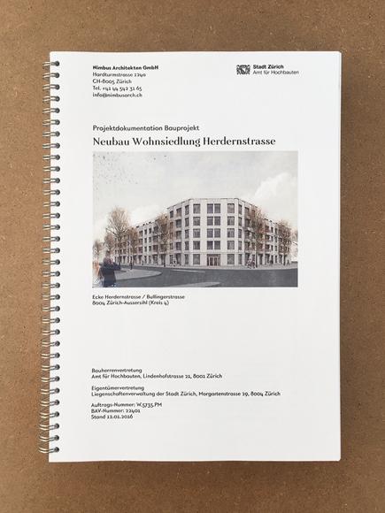 Nimbus Architekten Michael Bühler Lukas Schaffhuser Zürich Genehmigung Bauprojekt Wohnsiedlung Herdernstrasse