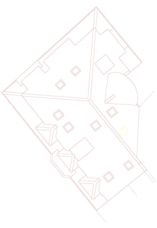 Nimbus Architekten Michael Bühler Lukas Schaffhuser Mehrfamilienhaus Zürich Dachaufsicht