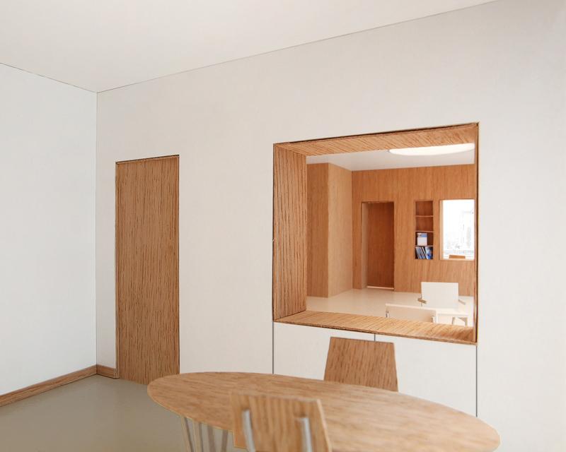 Nimbus Architekten Raiffeisen Mellingen Beratungszimmer