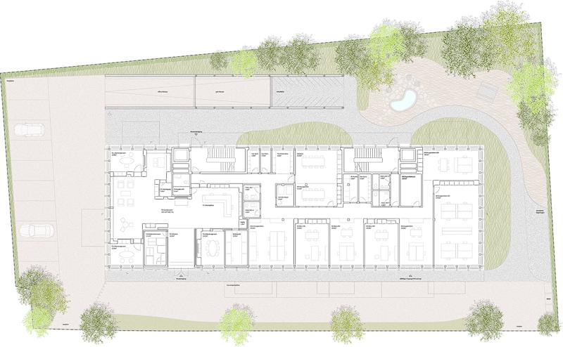 Nimbus Architekten Raiffeisen Michael Bühler Lukas Schaffhuser Mellingen Erdgeschoss