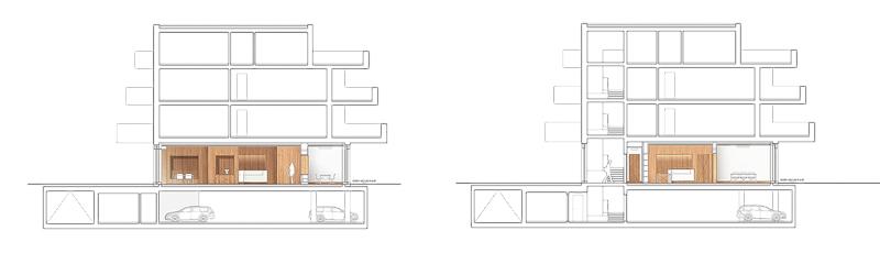 Nimbus Architekten Raiffeisen Mellingen Schnitt Quer