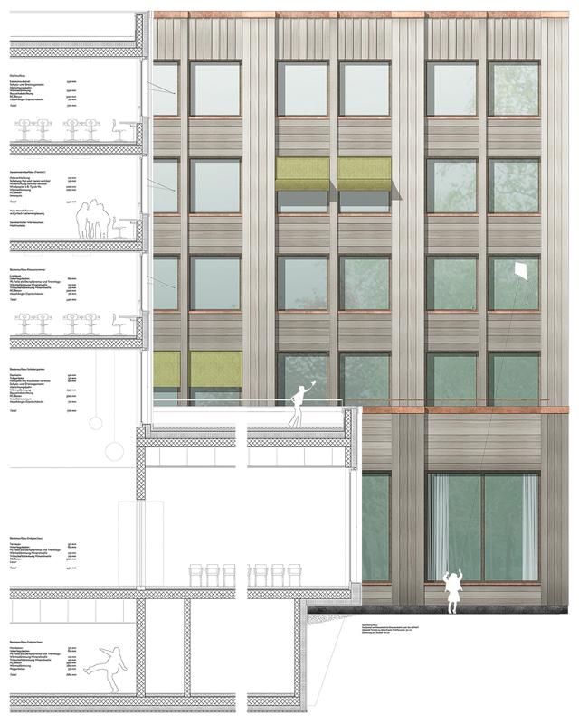 Nimbus Architekten Michael Bühler Lukas Schaffhuser Schulhaus Freilager Konstruktion
