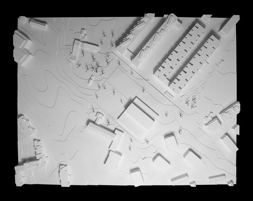 Nimbus Architekten Michael Bühler Lukas Schaffhuser Schulhaus Freilager Modell 1