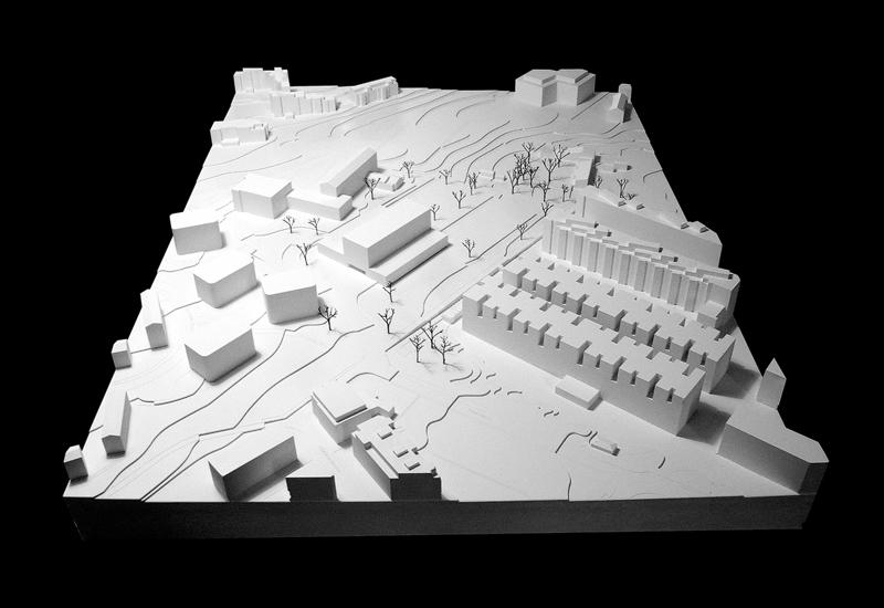 Nimbus Architekten Michael Bühler Lukas Schaffhuser Schulhaus Freilager Modell 2