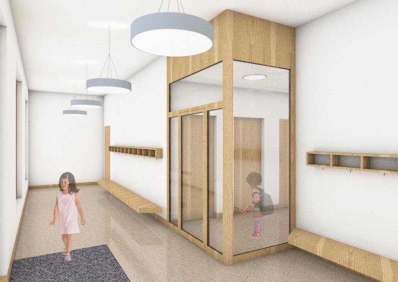 Nimbus Architekten Wohnsiedlung Herdernstrasse Kindergarten