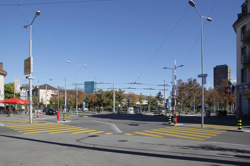 Nimbus Architekten Wohnsiedlung Herdernstrasse Kreuzung