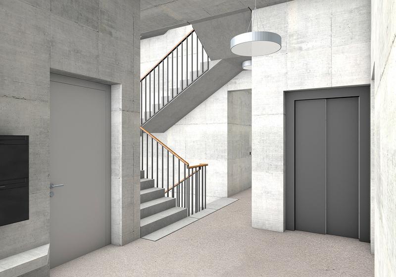 Nimbus Architekten Michael Bühler Lukas Schaffhuser Wohnsiedlung Herdernstrasse Hof