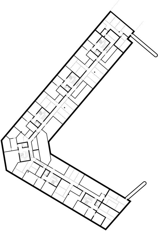 Nimbus Architekten Michael Bühler Lukas Schaffhuser Wohnsiedlung Herdernstrasse Untergeschoss