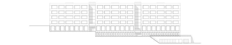 Nimbus Architekten Michael Bühler Lukas Schaffhuser Schulanlage Walka mit Auditorium Zermatt Fassade