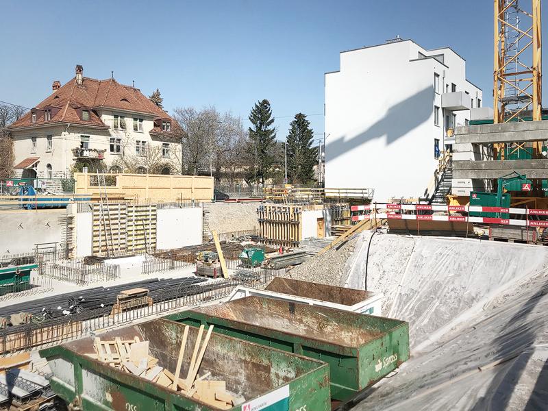 Nimbus Architekten Michael Bühler Lukas Schaffhuser Wohnsiedlung Herdernstrasse Kindergarten