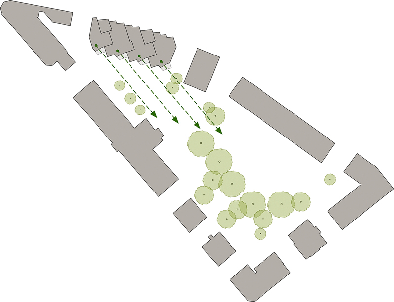 Nimbus Architekten Michael Bühler Lukas Schaffhuser Ersatzneubau Rotbuchstrasse Zuerich Picto Staedtebau