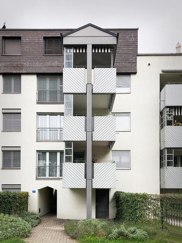 Nimbus Architekten Michael Bühler Lukas Schaffhuser Sanierung Gebaeudehuelle Ruetihof 1 Zuerich