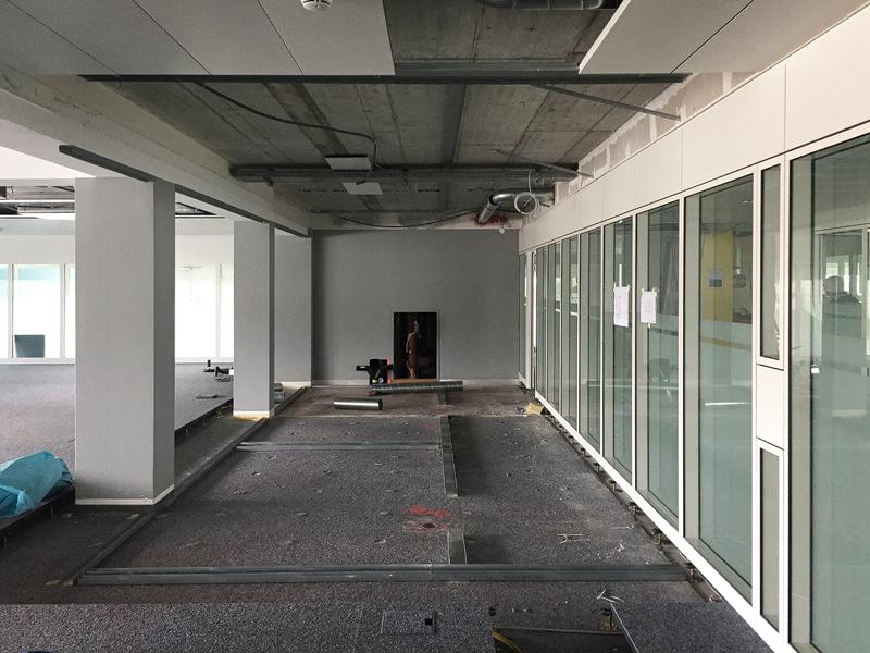 Nimbus Architekten Michael Bühler Lukas Schaffhuser Baustart Schulraumprovisorium