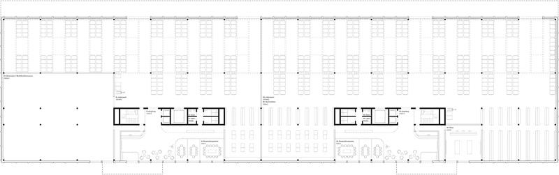 Nimbus Architekten Michael Bühler Lukas Schaffhuser Gewerbegebaeude Nord Regensdorf Erdgeschoss