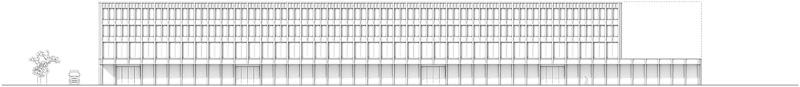 Nimbus Architekten Michael Bühler Lukas Schaffhuser Gewerbegebaeude Nord Regensdorf Fassade Nord