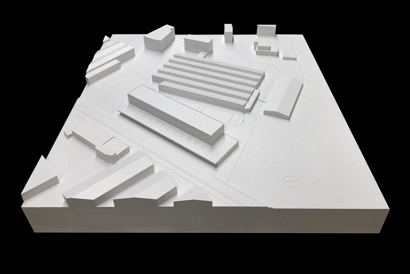 Nimbus Architekten Michael Bühler Lukas Schaffhuser Gewerbegebaeude Nord Regensdorf Modell
