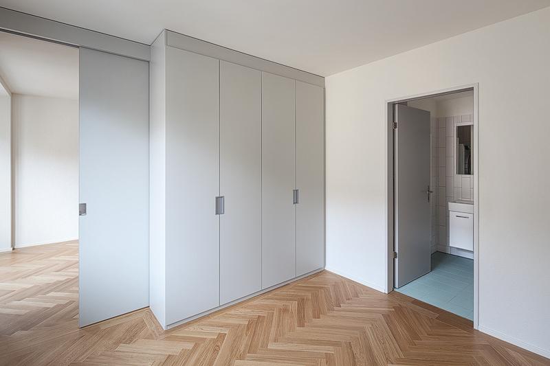 Nimbus Architekten Michael Bühler Lukas Schaffhuser Mehrfamilienhaus Zuerich Zimmer