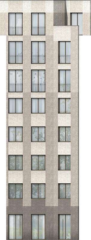 Nimbus Architekten Michael Bühler Lukas Schaffhuser Wohnsiedlung Hardau I Zuerich Ansicht DE
