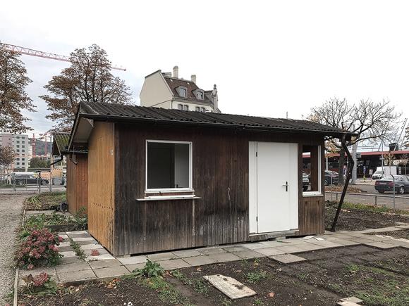 Nimbus Architekten Michael Bühler Lukas Schaffhuser Vorbereitungen Baustart Wohnsiedlung Herdernstrasse