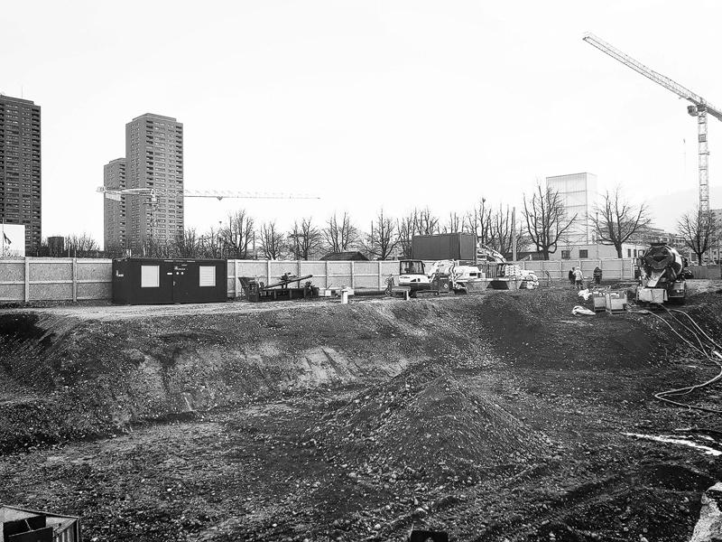 Baufreigabe Wohnsiedlung Herdern Nimbus Architekten Michael Bühler Lukas Schaffhuser