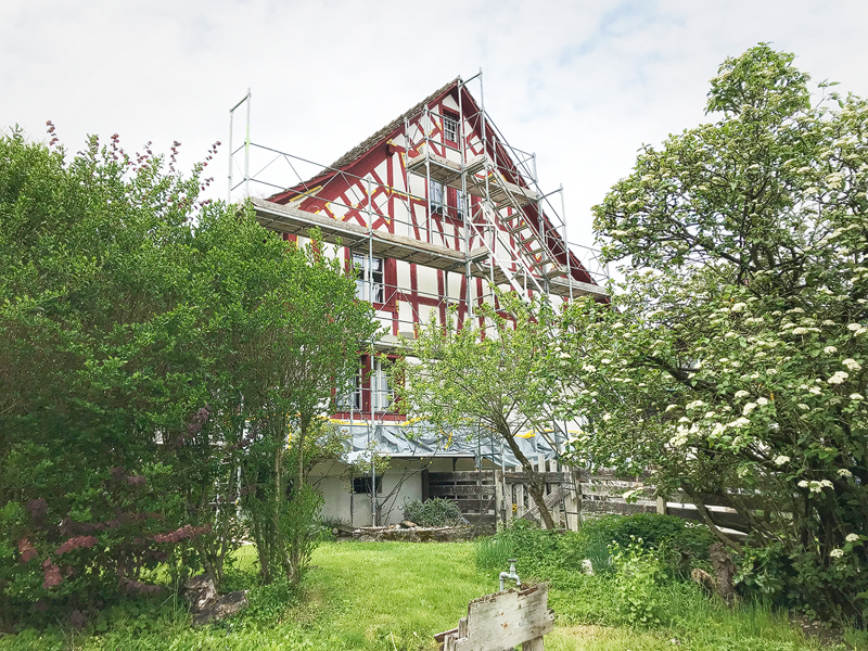 Nimbus Architekten Zürich Michael Bühler Lukas Schaffhuser Baustart Bauernhaus Adliswil