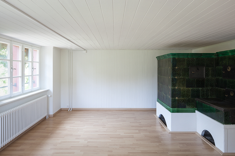 Nimbus Architekten Michael Bühler Lukas Schaffhuser Renovation Bauernhaus Adliswil Wohnen 1