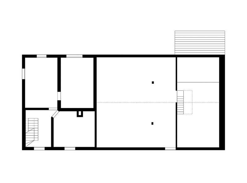 Nimbus Architekten Michael Bühler Lukas Schaffhuser Renovation Bauernhaus Adliswil Obergeschoss 1