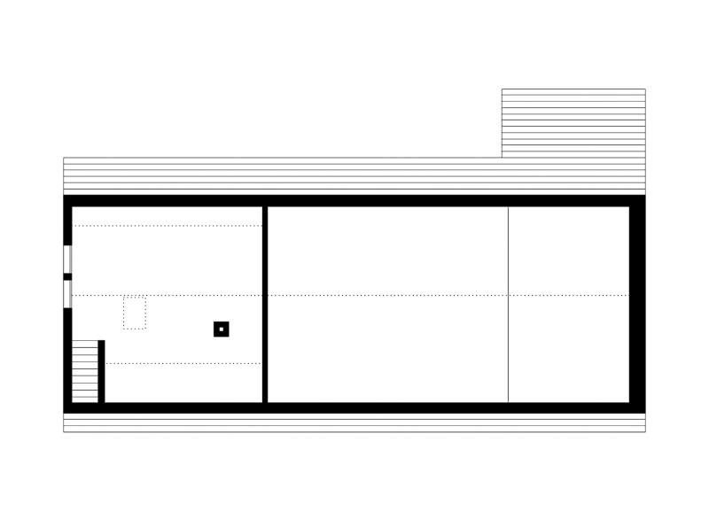 Nimbus Architekten Michael Bühler Lukas Schaffhuser Renovation Bauernhaus Adliswil Obergeschoss 2