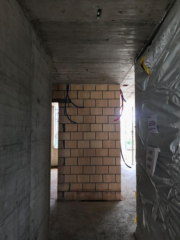 Nimbus Architekten Michael Bühler Lukas Schaffhuser Zürich Baufortschritt Herdernstrasse