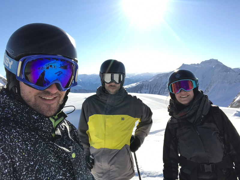 Nimbus Architekten Zürich Michael Bühler Lukas Schaffhuser Skitag 2020 Pizol