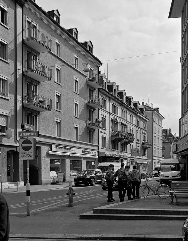 Nimbus Architekten Zürich Michael Bühler Lukas Schaffhuser Gesamterneuerung Dienerstrasse Genehmigung Projektierungskredit