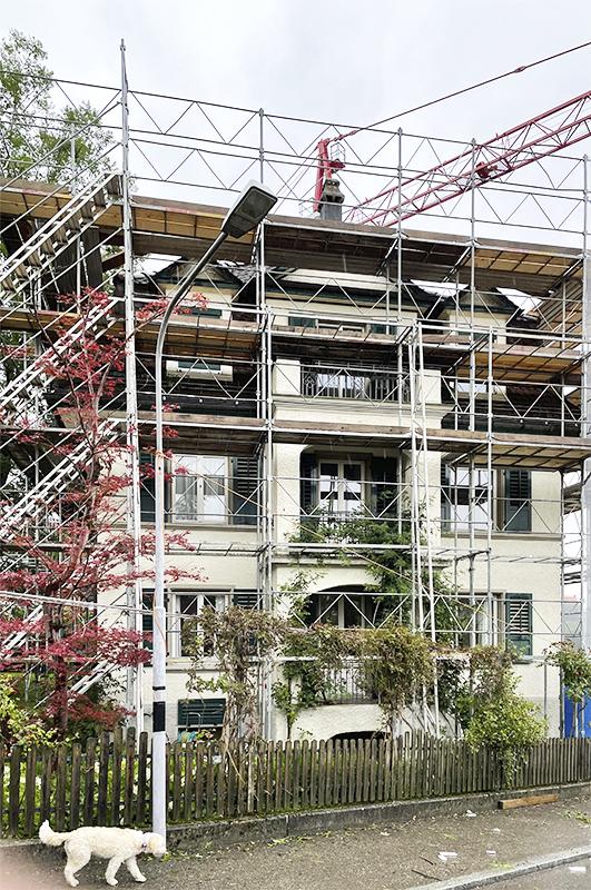 Nimbus Architekten Zürich Michael Bühler Lukas Schaffhuser Baustart Umbau Zürich