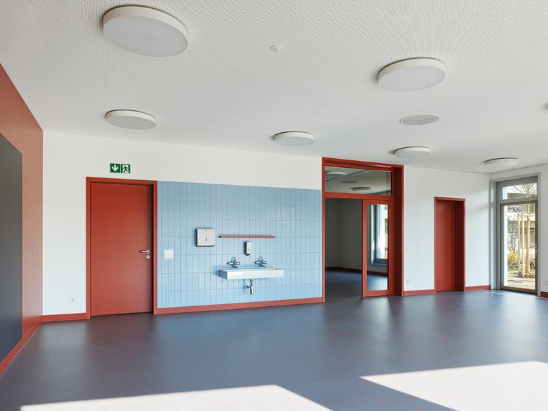 Nimbus Architekten Michael Bühler Lukas Schaffhuser Kindergarten Herdernstrasse Kindergartenraum Bild Georg Aerni